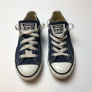 Converse Youth Size 1 Blue Sneakers